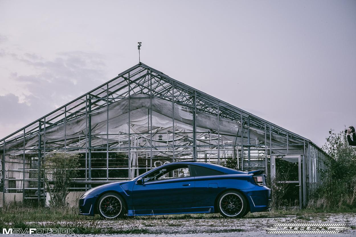 Celica,ombygget, Racelens